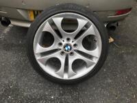 "bmw 18"" alloy wheel 225/40/18 BBS"