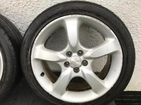 Subaru alloys