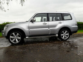 Mitsubishi Shogun Diamond Top Spec Model