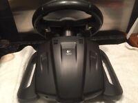 Logitech E-X5D12 Wireless Steering Wheel