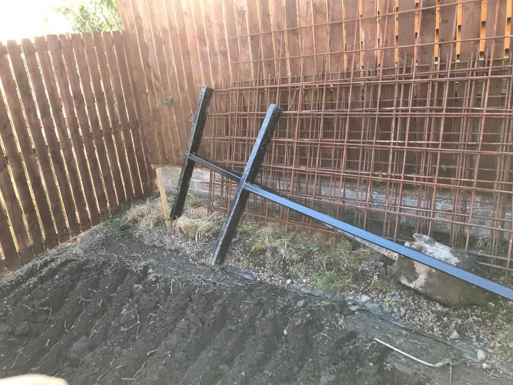 Steel Washing poles