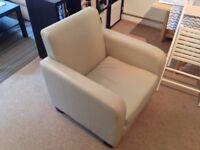 White / Cream Chair