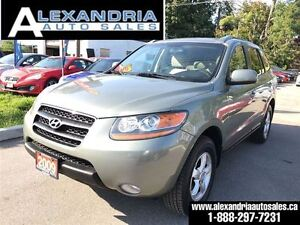 2009 Hyundai Santa Fe GLS leather sunrood safety & e test