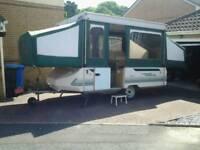 Conway Cardinal Club hard top pop up 6 berth trailer tent