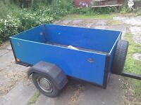 Car trailer car trailer I'm looking for one don't mind tlc