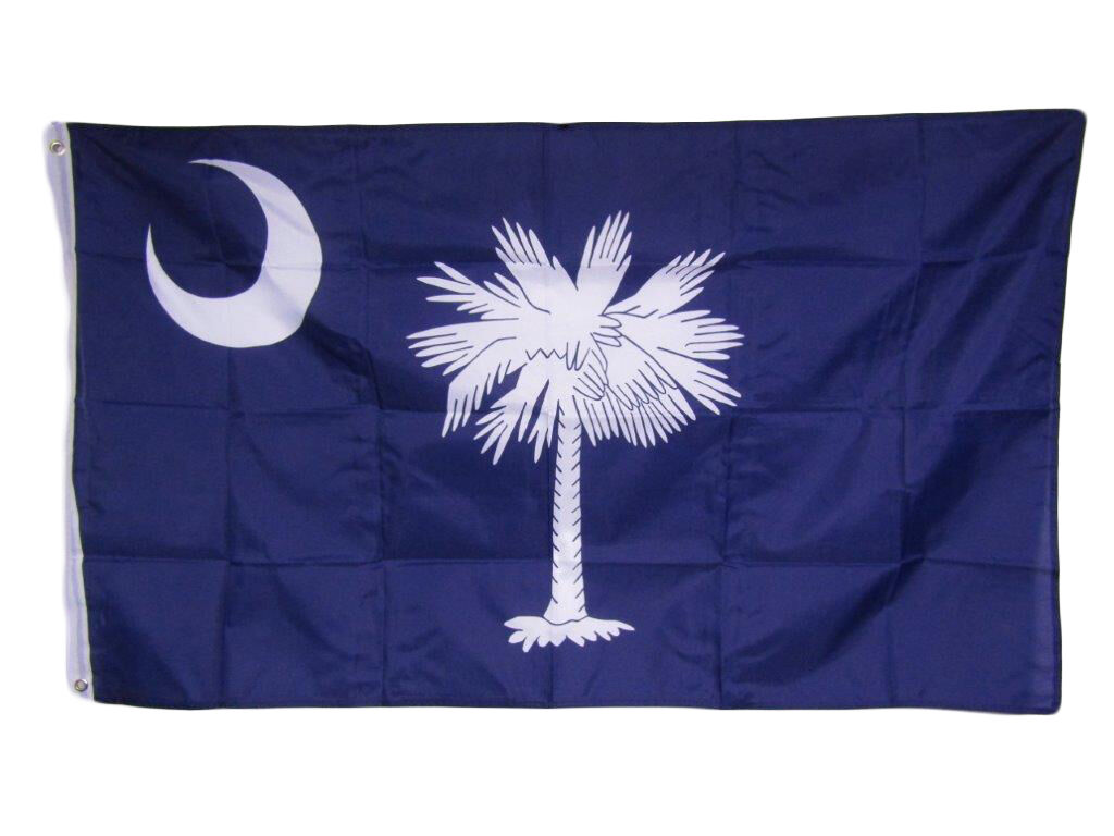 3x5 State of South Carolina SC Flag 3'x5' Banner Brass Gromm