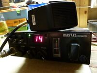 CB RADIO STANDARD FM 40 CHANNEL WITH EXTRAS.