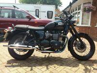 Triumph Bonneville T100 Black 2015