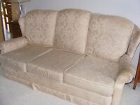 3 Seater Hand Made Solid Beech Wood Frame Settee
