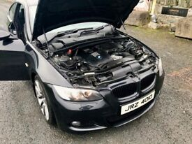 BMW E92 335i twin turbo 2008 manual 400bhp good spec May px