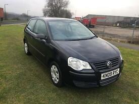 09 REG VOLKSWAGEN POLO 1.2 E 3DR-12 MONTHS MOT-CHEAP INSURANCE-LOOKS GREAT READY TO DRIVE AWAY