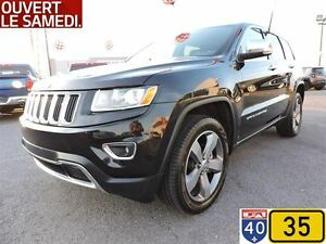 2016 Jeep Grand Cherokee LIMITED,TOIT OUVRANT,NAV,ROUES DE 20 PO