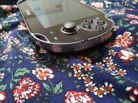 Playstation Vita with 64gb Memory Card and Accessories