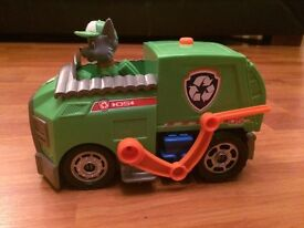 Paw Patrol Rocky Lights and Sound Recycling Truck