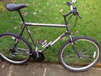 "GIANT men's bike 26"" wheels 22"" frame,21 gears, fully working order"