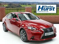 Lexus IS 300H F SPORT (red) 2014-09-03