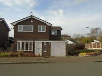 3 MONTH SHORT TERM TENANCY ONLY on this detached property in Bury from 13/03/2018