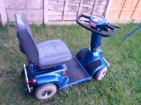 Blue Mobility scooter for sale in super conditiopn works like new great battery comes wiyth charger