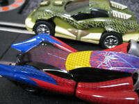 """ SCALEXTRIC "" Type Car Racing game --------- Carrera "" Spider-Man & Lizard "" --------- £6 o.n.o."