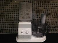 Morphy Richards (Select 404) 400 Watt Food Processor and Blender