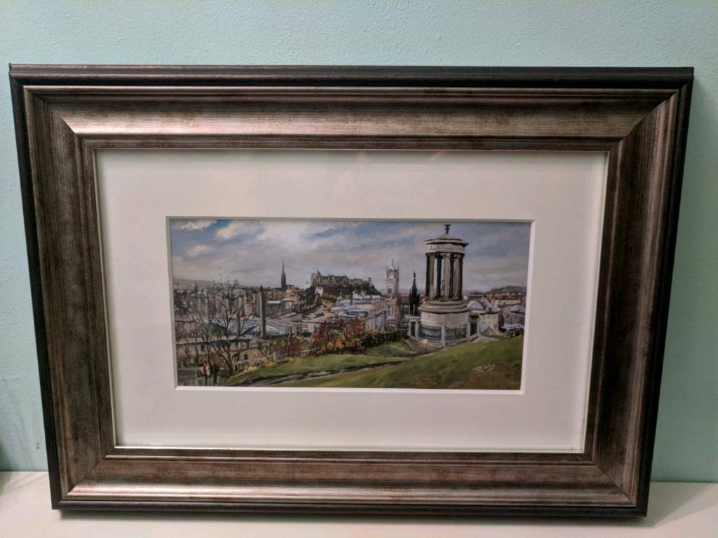 February On Calton Hill Painting