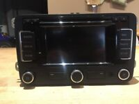 Genuine WW RNS 315 Sat Nav/Stereo Radio/Phone head unit