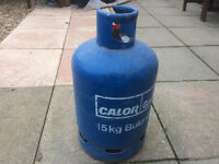 Calor gas bottle 15 kg nearley full