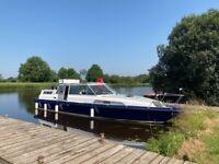 40ft cruiser boat for sale based in Lough Erne.