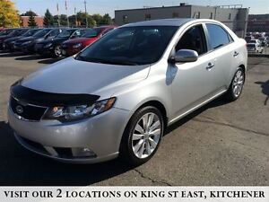2011 Kia Forte SX | LEATHER | ROOF | NO ACCIDENTS