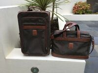 Longchamp Carry On Case and Computer Bag