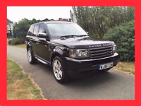 Black --- 2006 Range Rover Sport 2.7 TD V6 --- Diesel Automatic --- Full Leather ---alternate4 x5 q7