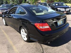 2012 Mercedes-Benz C-Class C250 | 1.8L COUPE | BEIGE LEATHER | N Kitchener / Waterloo Kitchener Area image 4
