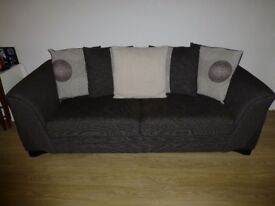 Two Fabric Sofas - 3 And 2 Seats