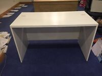 IKEA White Computer Desk - 1200mm wide x 600mm deep x 800mm high - £20