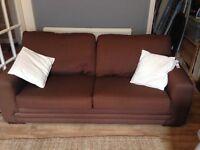 Brown sofa £60
