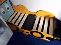 Toddler jcb bed