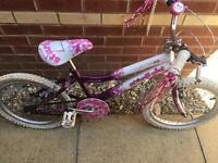 """Girls 18"""" bike starlight"""