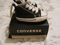 Baby converse size UK2