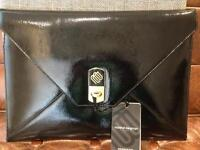 "Marshall Bergman Envelope Patent Clutch 13"" Exclusively for Apple"