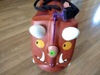 Trunki Ride-On Suitcase- Gruffalo- Brown- price negotiable