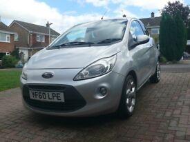 Ford KA 1.2 Titanium, Silver, Petrol, Full year MOT
