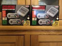 Brand New Nintendo SNES classic