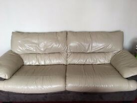 3 seater leather sofa excellent condition