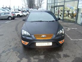 2007 07 FORD FOCUS 2.5 ST-3 3D 225 BHP **** GUARANTEED FINANCE **** PART EX WELCOME****