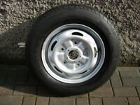 FOR SALE TRANSIT MK 7 WHEEL AND TYRE