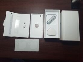 """Iphone 6 """"Empty box"""" with charger and Headphones"""