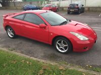 Toyota Celica VVTI. One former owner. Full service history. Beautiful car.