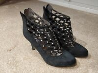 La Strada Black Heels - UK6