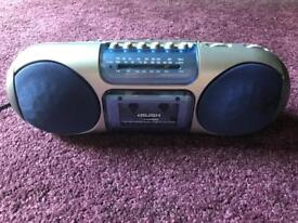Portable stereo, radio, cassette and recorder