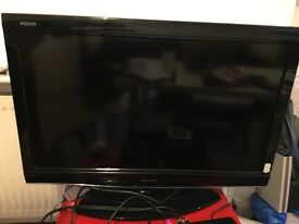 Sharp 32 -inch LCD 1080 pixels 100 Hz TV for sell- used